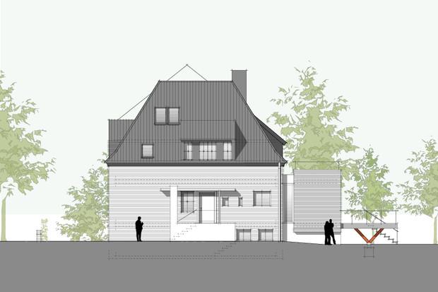 hilger architekten bauten stadtvilla p10 m nster. Black Bedroom Furniture Sets. Home Design Ideas