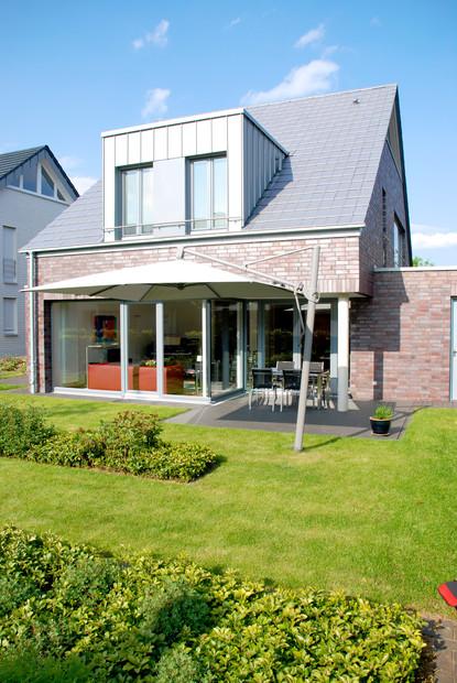 Hilger architekten bauten einfamilienhaus m221 muenster - Treppenhaus einfamilienhaus ...